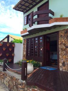 Un patio o zona al aire libre en Pousada Do Capitão