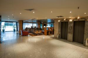 The lobby or reception area at Américas Benidorm Hotel
