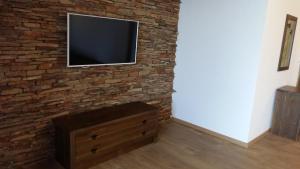 A television and/or entertainment center at Stara Pliska Complex