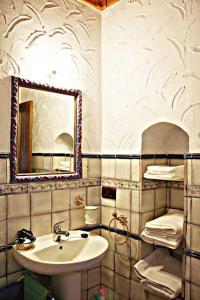Un baño de Casa Rural Elanio Azul