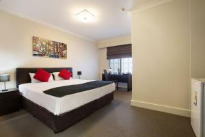 A room at Enfield Hotel
