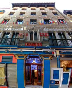 Fachada o entrada de Hotel Paris Centro