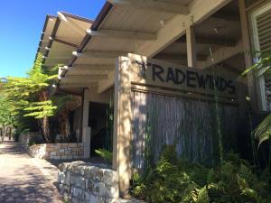 The facade or entrance of Tradewinds Carmel