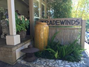 A porch or other outdoor area at Tradewinds Carmel