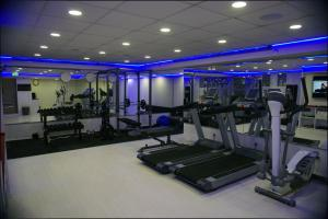The fitness center and/or fitness facilities at Best Western Regency Suites