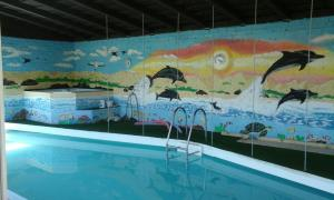 The swimming pool at or close to Heidi Haus