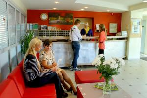 Guests staying at Olimpiska Centra Ventspils Hotel