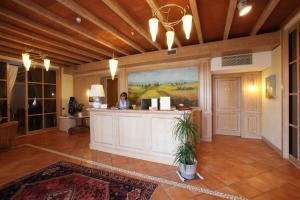 Hall o reception di Hotel Camoretti