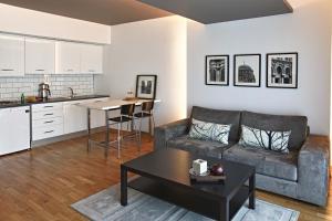 A kitchen or kitchenette at Apartman Istanbul