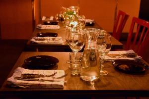 En restaurang eller annat matställe på Parkvillan
