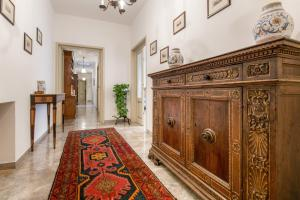 The lobby or reception area at Appartamento Cittadella 39