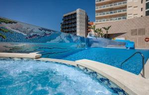 The swimming pool at or near Hotel RH Vinaros Playa & Spa 4* Sup