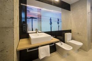 Un baño de Zerupe Hotel