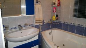 Ванная комната в Апартаменты на Комсомольской улице