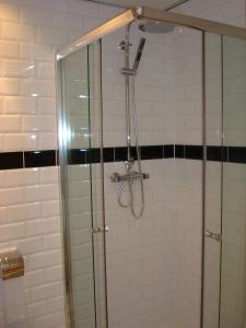 A bathroom at Hotel Keistad