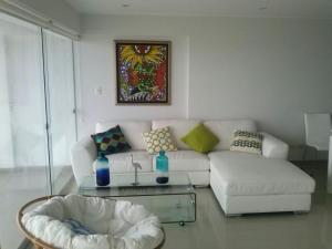 A bed or beds in a room at Apartamento Playa Señoritas