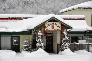 L'établissement Le Boisé du Lac en hiver