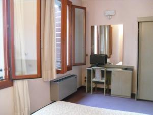 TV o dispositivi per l'intrattenimento presso Hotel Castello