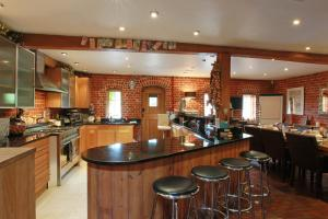 A restaurant or other place to eat at Tonge Barn