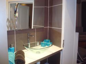 Salle de bains dans l'établissement Appartements Caractere Clos St Jean