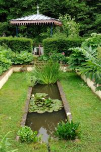 A garden outside Chateau De La Chassaigne