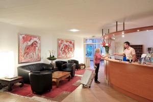 Lobby/Rezeption in der Unterkunft Hotel Ludwig van Beethoven