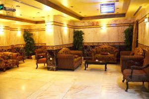 منطقة الاستقبال أو اللوبي في فندق ندى الضيافة
