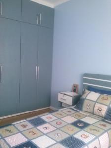 Cama ou camas em um quarto em Apartamento Alto Padrão