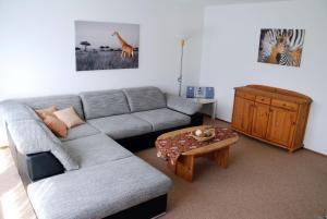 Ein Sitzbereich in der Unterkunft Haus Reiser