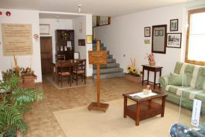 Area soggiorno di Residenza Di Campagna Montelleri