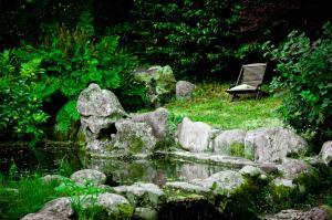 Jardín al aire libre en Casa Rural Entre Os Ríos