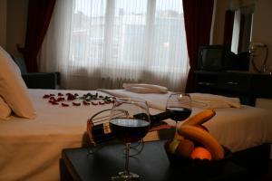 Гостиная зона в Diana Hotel