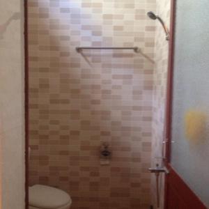 Phòng tắm tại Phong Nha Backpacker Hostel