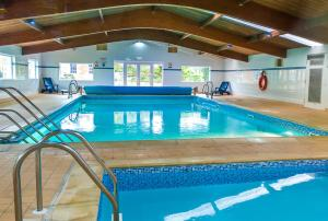 The swimming pool at or near Kilconquhar Castle Estate