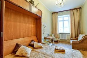 Гостиная зона в Apartment Petrogradsky