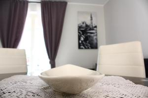A bed or beds in a room at Casa Lucia