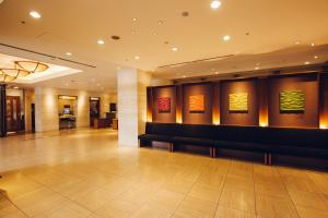 The lobby or reception area at Hearton Hotel Nishi Umeda