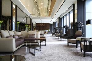 The lobby or reception area at Solaria Nishitetsu Hotel Seoul Myeongdong