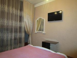 Телевизор и/или развлекательный центр в Apartment na Kurortnyi Prospekt