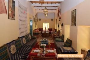 A restaurant or other place to eat at Palmeraie Guest House