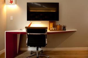 TV/Unterhaltungsangebot in der Unterkunft NobleDEN Hotel