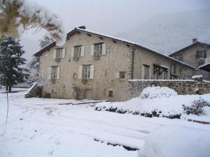L'Estapade des Tourelons during the winter