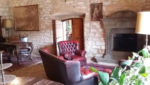 A seating area at Agriturismo Il Bastione