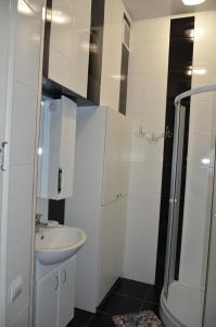 Ett badrum på Apartment Viatores