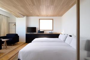 A bed or beds in a room at Claska