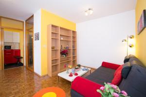 Ein Sitzbereich in der Unterkunft Casa Camilla