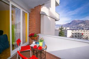 Ein Balkon oder eine Terrasse in der Unterkunft Casa Camilla