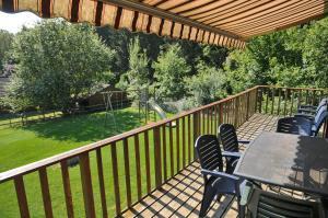 A balcony or terrace at Swaens