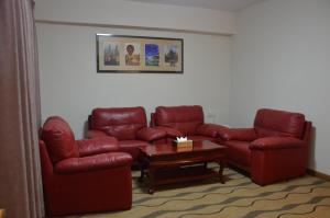 A seating area at City Star Hotel