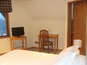 Cama o camas de una habitación en Hotel Seminario